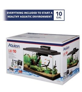 Aqueon LED Fish Aquarium Starter Kit,10 gallon  **US SELLER/FAST FREE SHIPPING**