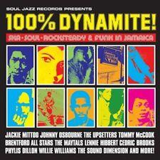 SOUL JAZZ RECORDS PRESENTS/100% DYNAMITE!-SKA,SOUL,ROCKSTEADY&FUNK...  CD NEW!