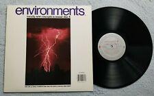 Environments 4: Ultimate Thunderstorm / Gentle Rain Pine Forest -Vinyl LP Record