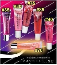 Gemey Maybelline Shine Sensational Lip Gloss Brilliant Lips 70 Mad About melon