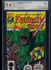 Fantastic Four #271! PGX (Not CGC SS) 9.4! Signed by Byrne! SEE PICS AND SCANS!