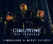 GINUWINE/MISSY ELLIOTT/TIMBALAND - GET INVOLVED [SINGLE] NEW CD
