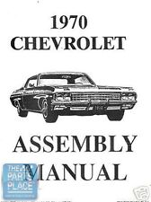 1970 Chevrolet Impala Factory GM Assembly Manual