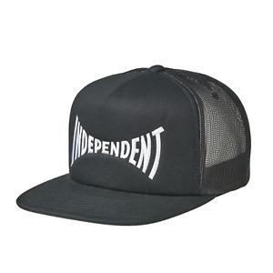 Independent Skateboard Trucks Hat Hat Span Mesh Trucker High Profile Black