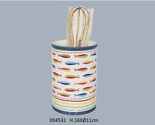 Keramik Kochutensilienbehälter Kochlöffelbehälter Vase Efya deco France Fishfull