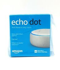 Amazon Echo Dot (3rd Generation) Smart Assistant Sandstone Fabric Speaker Alexa