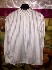 RARE!!! LOUIS VUITTON 'MONOGRAM' Dress Shirt XL LIMITED EDITION MADE IN FRANCE