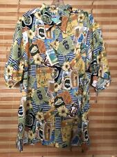 Trader Vic's Reyn Spooner XL New With tags Collectable rayon Hawaiian shirt