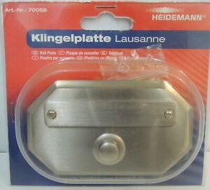 Heidemann Klingelplatte Lausanne Art.-Nr.: 70068