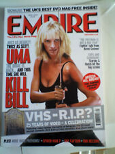 Empire magazine 178 APR 2004 KILL BILL FVF THURMAN SPIDER-MAN 2 VHS RIP AWARDS