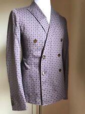 NWT $2250  Gucci Mens Sport Coat Jacket, Blazer Purple 38 US ( 48 Euro) Italy