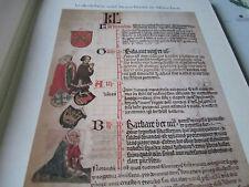 München Archiv 3 Brauchtum 3040 Jahreszeitenbuch Franziskanerkloster 1424
