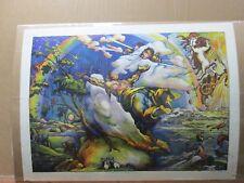 Creation Vintage 1972 religious God poster Inv#G2662