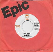 SPIRIT  Mr Skin  rare promo 45 from 1972