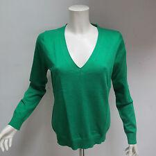 GANT maglione donna COTONE scollo a V mod.485300 col.VERDE tg.L ESTATE 2011