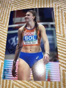 Femke Bol Signed (Netherlands)