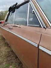 1967 DODGE POLARA 4DR RF PASSENGER DOOR UPPER CHROME TRIM MOULDING