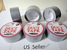6-Pack utility craft Contractor Grade value Duct tape Silver 2 In X 20 Yd USA