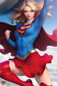 "Supergirl - DC Comics Poster / Print (Close-Up / Sexy) (Size: 24"" X 36"")"