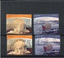 Norway Landscapes Stamps 2020  Jan Mayen Island Polar Motifs 2v F/U Set