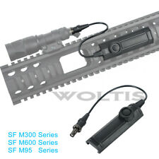 Tail Switch for Surefire M300 M600 M951 M952 Scout Light, Constant / Momentary