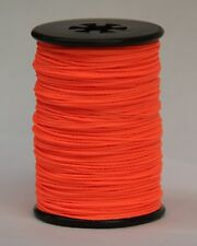 Flo Fluorescent ORANGE BCY Nock & Peep Bow String Serving Bowstring Nylon