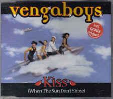 Vengaboys-Kiss Cd maxi single incl video eurodance holland