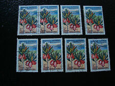 NOUVELLE CALEDONIE timbre yt n° 315 x8 obl (A4) stamp new caledonia (A)