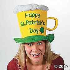 St. Patrick's Day Beer Mug Hat