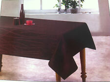 Sonata Chocolate Tablecloth -150cm round 4 seater