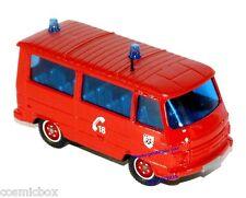 Camion de pompier PEUGEOT J9 SOLIDO fire truck lastkraftwagen von feuerwehrmann