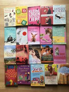 Bücherpaket Sammlung Frauen Bücher Romane 20 Frauenromane Liebe Romantik