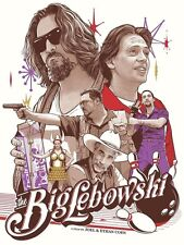 The Big Lebowski Movie Joshua Budich WAY OUT WEST Art Print Poster