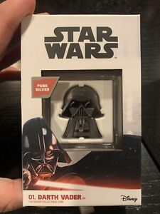 Darth Vader Chibi - 1 oz. Silver Coin - New Zealamd Mint