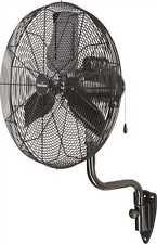 "Garrison 30"" 9,500 CFM 3 Speed Industrial Oscillating Wall Mount Pedastal Fan"