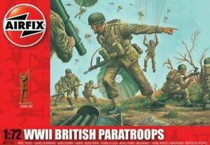 Airfix 1/72 WWII British Paratroops # A01723