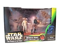 🎁 The Power Of The Force Star Wars 3 figure Pack Mynock Hunt 3.75 inch