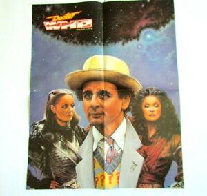 1987 DR.WHO Poster - Sylvester McCoy