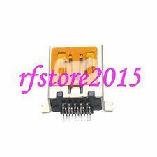 3pcs Connector Micro USB 8 Pin Jack Socket for Lenovo Samsung ES80 USB Silver