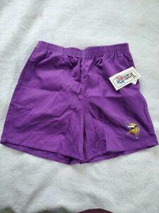 Vintage 1980's Minnesota Vikings Shorts NWT, Sz L