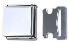Vintage Lift Latch Seat Belt Buckle With Chrome Lid, Includes Matched Latch End