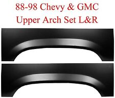88 98 Chevy GMC Upper Rear Wheel Arch Repair Panel Set L&R Truck 1500 2500 Truck