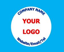 Personalised Business Birthday Stickers Thank You Seals Your Logo Labels Address