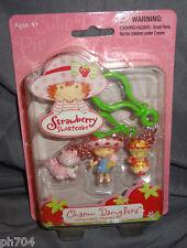 Strawberry Shortcake Berry Sweet Charm Danglers w/ apple dumpling 2005