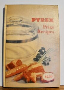 Pyrex Prize Recipes Cookbook Corning Glass Works Hardcover Vintage 1953 - Clean!
