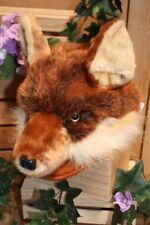 "12"" Red Fox Plush Stuffed Animal Hat Cap"