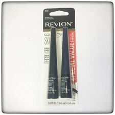 REVLON COLORSTAY SKINNY TIP LIQUID EYELINER All day wear( BLACK OUT& NAVY SHOCK)