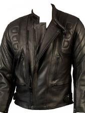 Blousons noirs coudes pour motocyclette taille 52