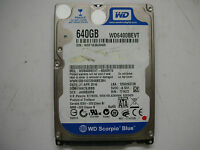 """WD Scorpio Blue 640gb WD6400BEVT-00A0RT0 2061-771672-001 AE 2,5"""" SATA"""