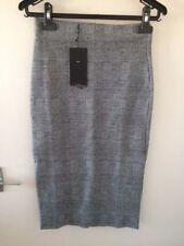 Zara Cotton Checked Skirts for Women